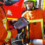 Le SDIS 81 modernise les équipements opérationnels en se dotant de tablettes numériques pour aider aux opérations de terrain / © SDIS 81