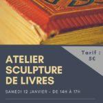 Atelier sculpture de livres (c) Papyrus