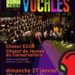 Correspondances vocales (c) Conservatoire de Musique et de Danse du Tarn
