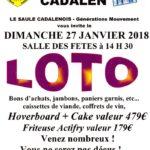 Grand loto (c) Ainés de Cadalen ( LE SAULE CADALENOIS )