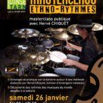 Masterclass ethnos-rythmes (c) Conservatoire de Musique et de Danse du Tarn