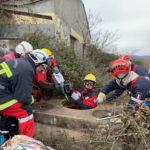 Le SDIS du Tarn en exercice de déblaiement à Lunel / © Département du Tarn