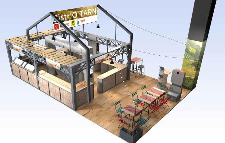 Bistro'Tarn, Salon International de l'Agriculture 2019