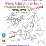 Afterwork: Venez fêter la Saint Va-t'en loin! (c) MJC lagarrigue