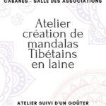 Atelier création de mandala tibétain en laine (c) Papyrus