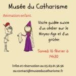 Le Musée s'amuse: animations spéciale famille (c) Musée du catharisme de Mazamet