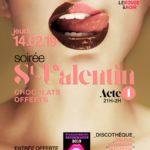 Saint Valentin Libertine - chocolats Offerts (c) Le Rouge & Noir - club libertin