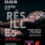 Soirée résilles (c) Le Rouge & Noir - club libertin