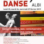Stage De Danse classique, contemporaine, jazz (c) Conservatoire de Musique et de Danse du Tarn