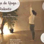 Stage de Yoga : ralentir (confirmés) (c) L'alchimie des corps