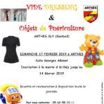 Vide dressing et objets de puériculture (c) Arthes SLV