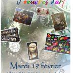 Voyage au travers d'oeuvres d'art (c) MJC Rabastens Couffouleux