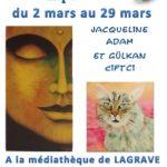 Expo Zen attitude (c) médiathèque Lagrave