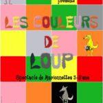 Les couleurs de Loup. Marionnettes (c) Le Café Plùm