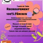 Regroupement féminin tennis de table (c) Comité Tennis de table du Tarn