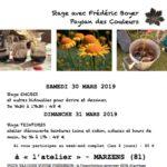 Stages Encres et Teintures Végétales (c) Frédéric Boyer - Paysan des Couleurs.