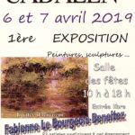 Exposition de peintures sculptures (c) LE SAULE CADALENOIS
