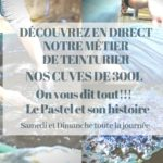 Journée des Métiers d'art La Teinture Pastel (c) LA FERME AU VILLAGE