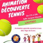Animation Découverte du Tennis (c) Tennis Club de Lautrec