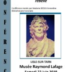 Conférence sur Raymond Lafage (c) Musée Raymond Lafage