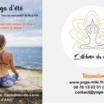Cours de Yoga d'été - Mercredis matins à Albi (c) L'alchimie des corps