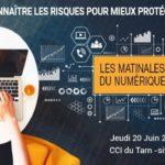 Cybersécurité : connaître les risques (c) CCI du Tarn en partenariat avec AXA