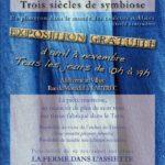 Exposition gratuite Pastel et Indigo (c) La Ferme au Village