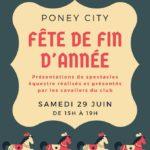 Fête de fin d'année Poney City (c) Poney City
