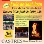 Le feu de la Saint-Jean (c) Centre Occitan del País Castrés