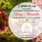 Yoga-brunch - cours de Yoga Gratuit (c) L'alchimie des corps