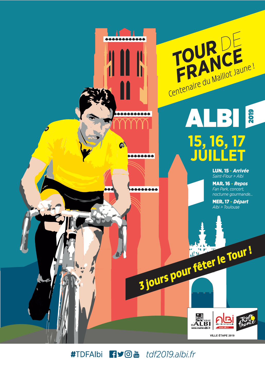 Le Tour de France 2019 à Albi / © DR