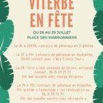 Fête de village (c) Comité des fêtes de Viterbe