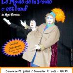 Spectacle théâtre et clown (c) Drôles de Zoiseaux cie