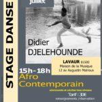 Stage de danse afro-contemporaine (c) Association Ebenbao