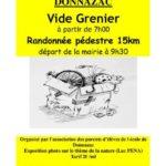 Vide grenier de l'Ecole & Randonnée 15km (c) Association des parents d'élèves