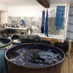 Visite/conférence atelier de teinture Pastel (c) La Ferme au Village