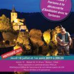 Visite théâtralisée d'Ambialet (c) Office de Tourisme Vallée du Tarn & Monts de