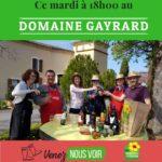 Apéritifs fermiers au Domaine Gayrard (c) DOMAINE GAYRARD