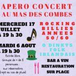 Apero concert au mas des combes (c) MAS DES COMBES Vins de Gaillac