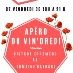 Les apéros du Vin'dredi (c) DOMAINE GAYRARD
