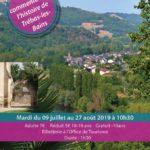 Visite commentée de l'histoire de Trébas (c) Office de Tourisme Vallée du Tarn & Monts de