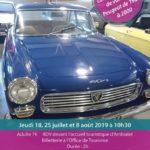 Visite d'une collection de voitures Peugeot (c) Office de Tourisme Vallée du Tarn & Monts de