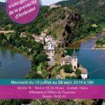 Visite guidée de la presqu'île d'Ambialet (c) Office de Tourisme Vallée du Tarn & Monts de