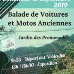 4ème Balade de Voitures et Motos Anciennes (c) Ville de Mazamet