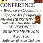 Conférence (c) Association Vivre à Cadalen