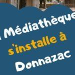La médiathèque s'installe à Donnazac (c) Médiathèque Gaillac-Graulhet Agglomération