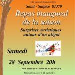 Repas Inaugural De La Saison 2019-2020 (c) Le Pin des Arts