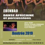 Reprise des cours de danses africaines (c) Association Ebenbao