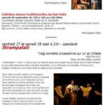 Strampalati ! Une semaine italienne à Lautrec (c) La Compagnie Circ'hulon et Café Plùm