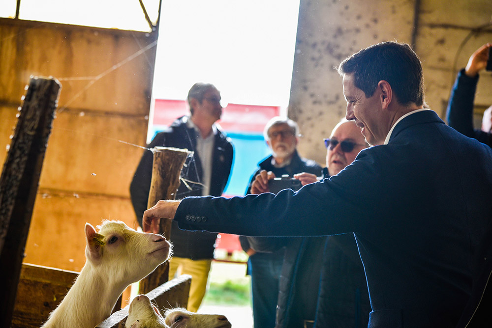 Retour sur la visite du Président sur le canton des Deux Rives / © Département du Tarn
